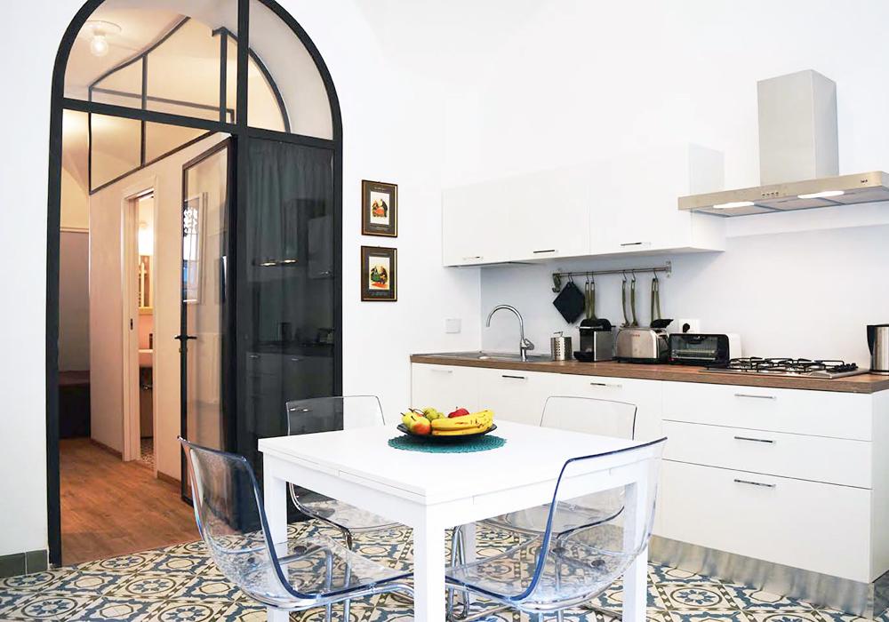 Studio 3c | Architettura | Ristrutturazione edilizia per la realizzazione del B&B Little Green a Roma
