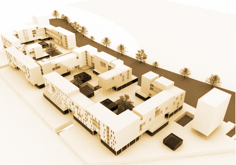 Studio 3c | Architettura | Complesso residenziale ad alta intensità a viale delle Provincie