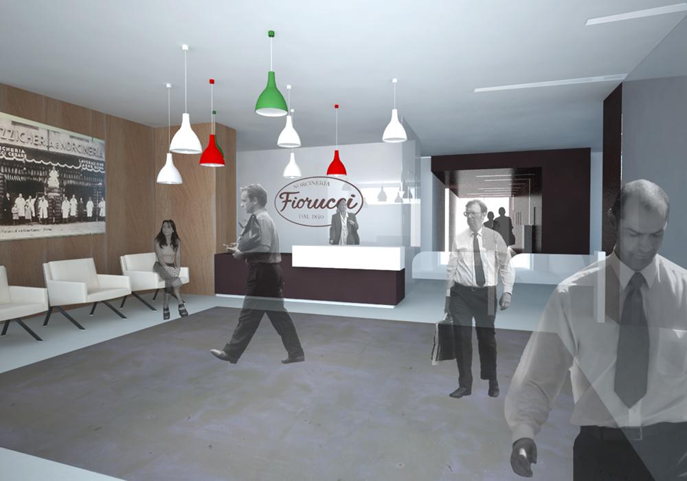 Studio 3c | Architettura | Gara per il restyling degli uffici della FIORUCCI a Pomezia