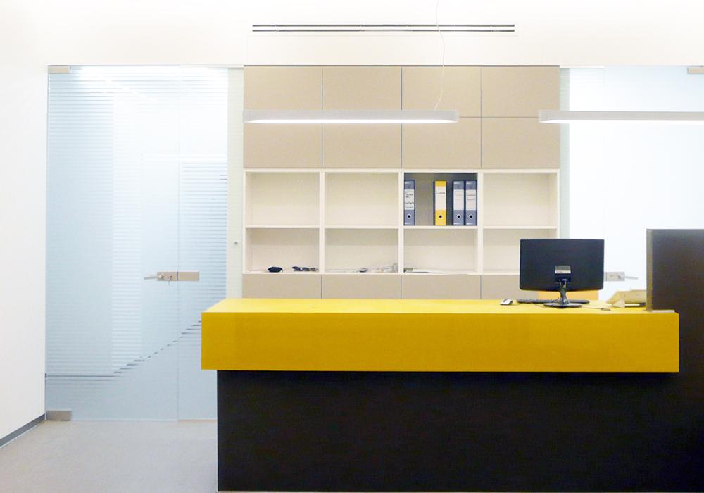 Studio 3c | Architettura | Ristrutturazione edilizia per la realizzazione del Poliambulatorio Fisiomedical Caravaggio a Roma