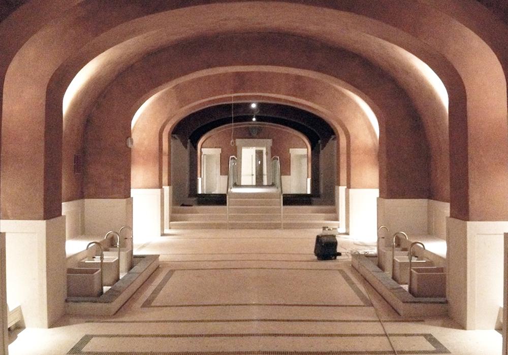 Studio 3c | Architettura | Interventi di restauro e adeguamento per la realizzazione del Resort&SPA QCTerme Roma