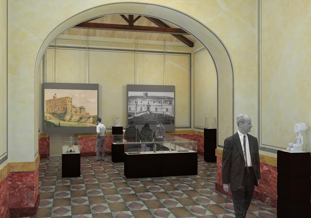 Studio 3c | Architettura | Progetto di recupero e restauro del Castello di Ardea