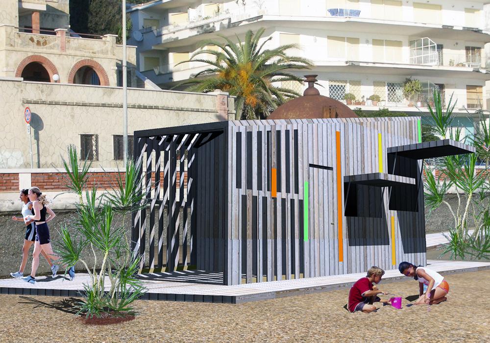 Studio 3c | Architettura | Assetto e riqualificazione delle spiagge libere attrezzate a Nettuno
