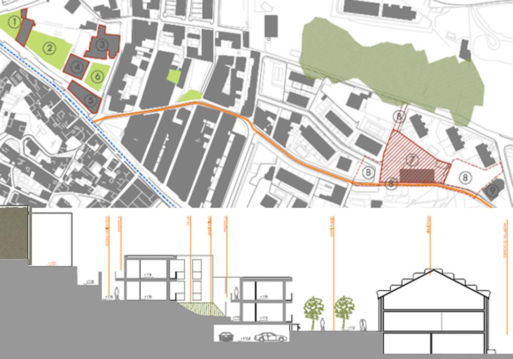 Studio 3c | Urbanistica | Studio di fattibilità per la realizzazione della Biblioteca Comunale e di un edificio di edilizia residenziale pubblica, Catalogna, Spagna
