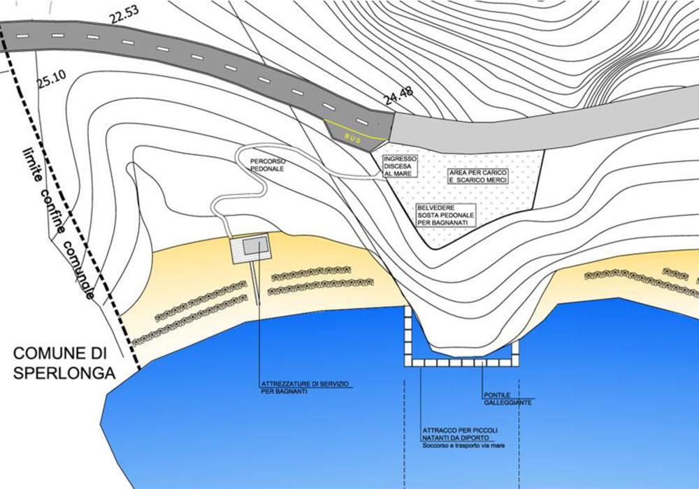 Studio 3c | Urbanistica | Piano di utilizzazione degli arenili di Itri