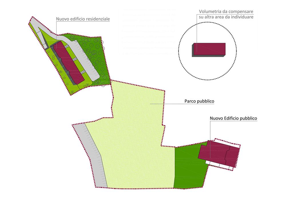 Studio 3c | Urbanistica | Palazzina di 12 unità immobiliari nel Comune di Monteporzio Catone