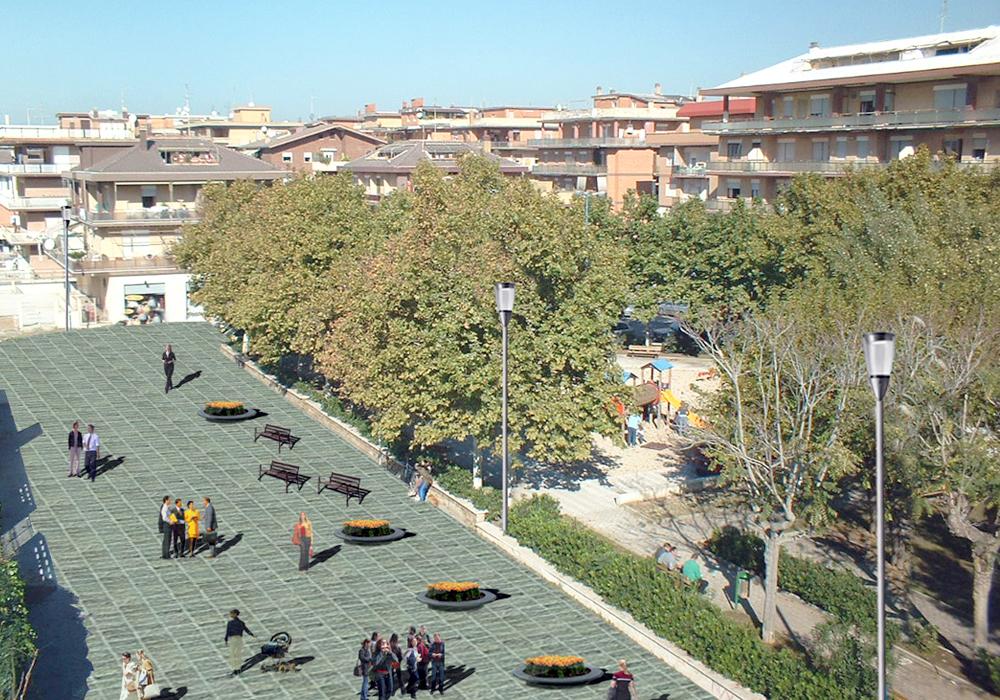 Studio 3c | Urbanistica | Riqualificazione urbana di Torvaianica centro