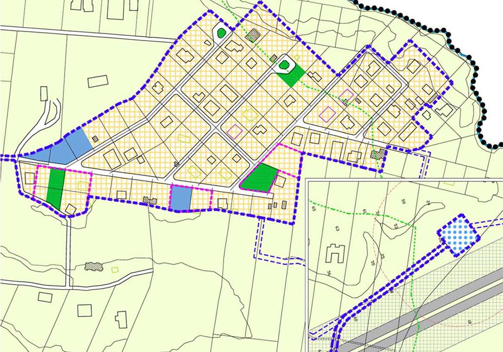 Studio 3c | Urbanistica | Variante Speciale e Piani Particolareggiati di 4 nuclei abusivi – L.R. 28/80 Campagnano Romano